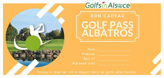 Bon cadeau Golfpass ALBATROS