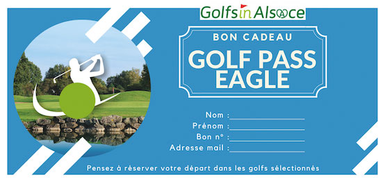 Bon cadeau Golfpass EAGLE