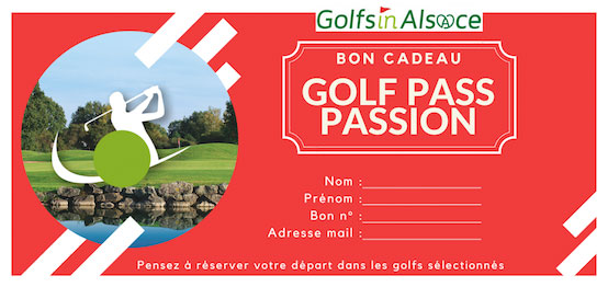 Bon cadeau Golfpass BIRDIE